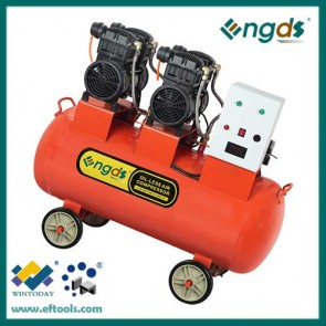 4hp 3kw 140l 2 cylinder specific oil free air compressor for sand blasting 184055