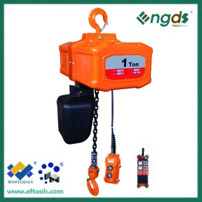 Fast lifting speed triphase portable car hoist machine  200006