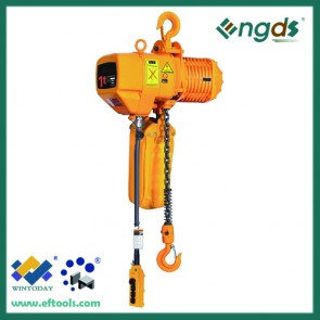 Cheap 1 ton electric garage adjustable speed chain hoist 200055
