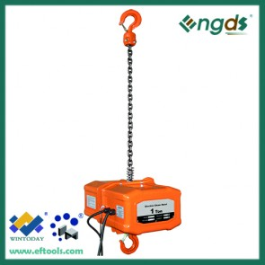 380V hanging 1 ton portable crane electric hoist 200091