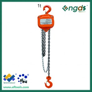 Hot sell cheap High quality 1/2-10T chain pulley hoist 201042