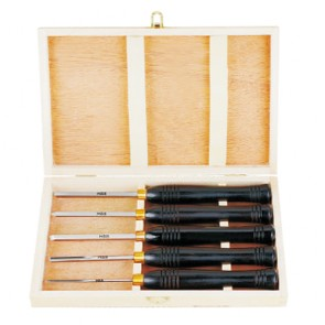 wood lathe chisel set